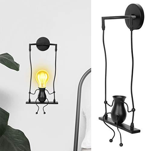 01 Lámparas, Base de luz de Pared, Base de lámpara de Techo Retro Simple para Cocina Accesorios de iluminación Decoración del hogar Dormitorio