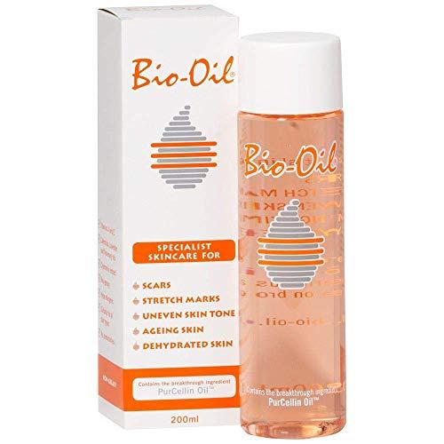 Bio Oil - Huidverzorging Bij Littekens - 200ml - Verminderen van Littekens, Huidstriemen en Pigmentvlekken - Geschikt voor Verouderende en Uitgedroogde Huid