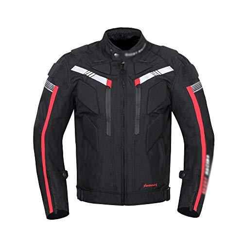 Chaqueta Moto Hombre Textil Four Seasons Waterproof Jacket Motocicleta Wear...
