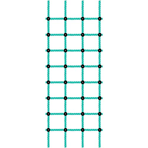 Besthouse Climbing Cargo Net, Indoor Climbing net, Outdoor Cargo Webbing Net, Military Climbing Cargo Net, 100% Nylon Material Rope Ladder, Corrosion Resistance, 30