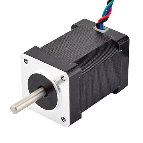 STEPPERONLINE Nema 14 Stepper Motor High Torque 1.8 deg 1.5 A 40 Ncm 35 x 35 x 52 mm for 3D Printers