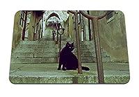 22cmx18cm マウスパッド (猫のはしご) パターンカスタムの マウスパッド