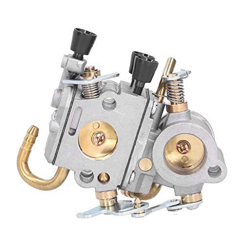 UGUTER Go Kart Carburetor Sellos de Goma automática Junta de Silicona Carburador de Aire Filtro de Aire Pre-Filtro Kit de Filtro de reemplazo Accesorio de Motosierra para TS410 TS420 Carburado
