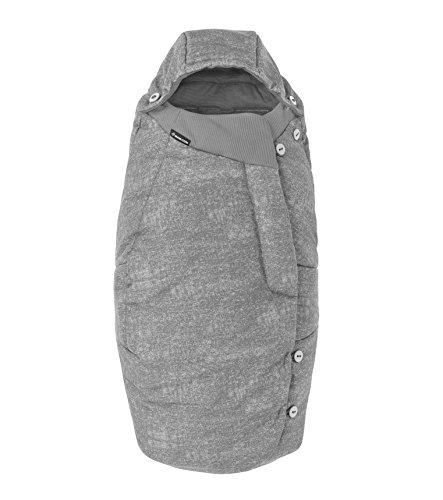 Maxi-Cosi Saco cochecito bebé, saco carrito universal, puede utilizarse come cubrepiés para niños, color nomad grey