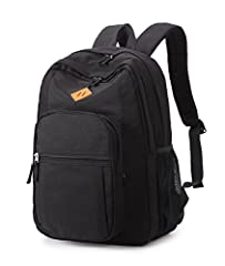 "Material:The Multi Pocket Backpacksis made of high quality lightweight Water Resistant Polyester Approx Dimensions:12.2"" L x 5.3"" D x 16.5"" H It has lots of room which is perfect for carrying a tablet/laptop and snacks Great for casual day use and fo..."