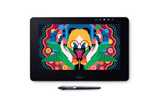 """WACOM Cintiq Pro 13"""" Display Interattivo per Grafica Professionale in Nero / Tablet Grafico per Disegno Digitale / Alta Risoluzione Full HD / Compatibile con Windows & iOS / Penna Wacom Pro 2 inclusa"""