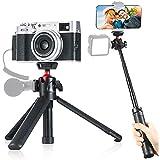 Selfie Stick trípode de mesa ulanzi MT-16 con cabeza esférica de 360° para iPhone, smartphone, Huawei, cámaras Sony Canon y videocámaras deportivas Gopro