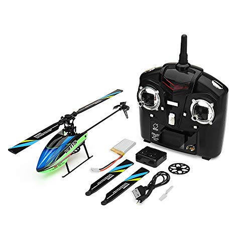 Quickbuying High WLtoys V911S 2.4G 4CH 6-Aixs Gyro Flybarless RC Helicopter RTF