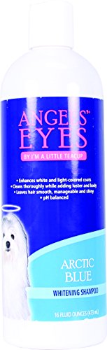 ANGELS' EYES Whitening Pet Shampoo, 16-Ounce, Arctic Blue (White Cat With Blue Eyes For Sale)