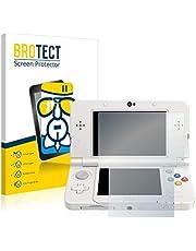 brotect Pellicola Protettiva Vetro Compatibile con Nintendo New 3DS Schermo Protezione, Estrema Durezza 9H, Anti-Impronte, AirGlass