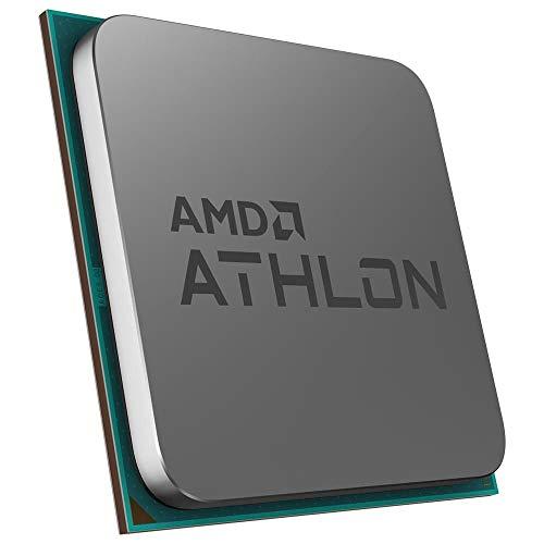AMD Athlon 3000G with Radeon Vega 3 Graphics Desktop Processor 2 Cores 3.5GHz 5MB Cache AM4 Socket (YD3000C6FHBOX)