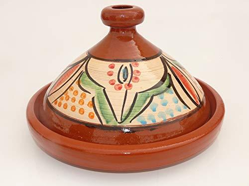 Marokkanische Tajine zum Kochen Ø 35 cm für 3-5 Personen - 905118-000924