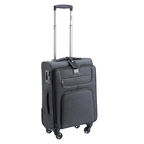 Stratic Go First - Stop Later Koffer S Hand Luggage, 55 cm, 35 liters, Black