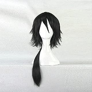 Natsume Yuujinchou Matoba Seiji Black Straight Cosplay Wig (black)