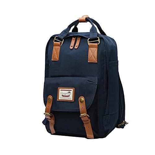 LIYULI Damen outdoor Rucksack Mode Schulrucksack für Mädchen Backpack Rucksack schulrucksack rucksäcke mit Laptopfach für Camping Outdoor Sport (Dunkelblau)