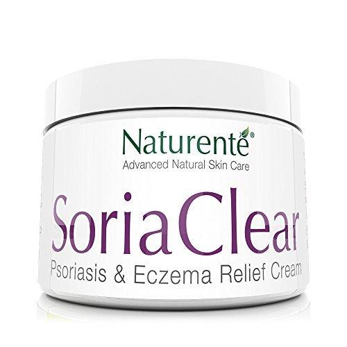 Naturenté Soria Crema hidratante natural para problemas de la piel seca, alivio rápido 21 ingredientes orgánicos naturales
