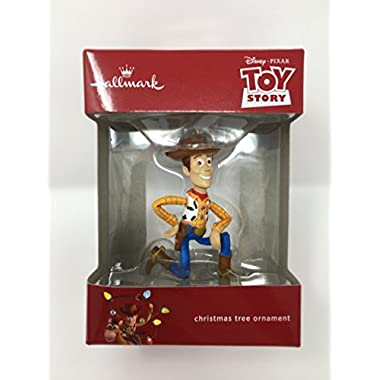 Hallmark Toy Story Sheriff Woody Disney Pixar Christmas Ornament 2017