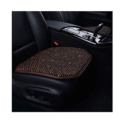 L.TSA Autositzkissen, handgefertigt, Holzperlen, kühles Polster, gegen Ermüdung, rutschfest, 5 Designs (Farbe: D-1), E1