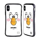 Head Hülle Designs Offiziell Offizielle Angry Birds Matilda Volles Gesicht Hybride Handyhülle Hülle Huelle kompatibel mit Apple iPhone X/iPhone XS