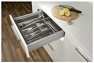 Cutlery Tray for 400mm Cabinet Matt Anthracite - 314mm wide