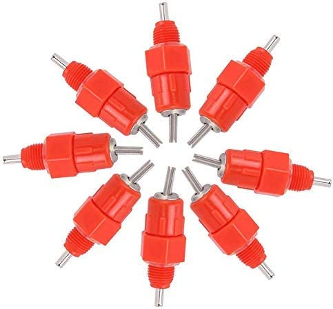 Zerodis Chicken Feeder Nipples 100Pack Dispenser Poultry High store quality Water