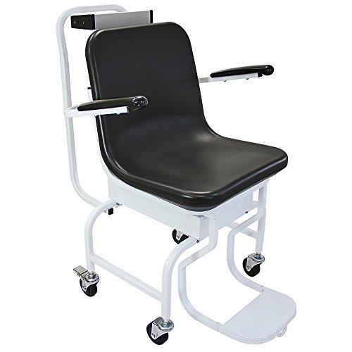 T-Mech Medizinische Stuhlwaage Digitalstuhlwaage Rollstuhlwaage Stuhlwaage Personenwaage Waage Sitzwaage Personenwaage zum wiegen im Sitzen bis 200kg Tragkraft