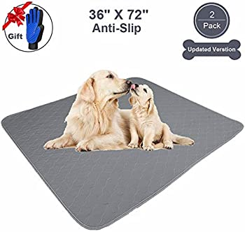 JdPet Washable Puppy Pads+Free Grooming Gloves