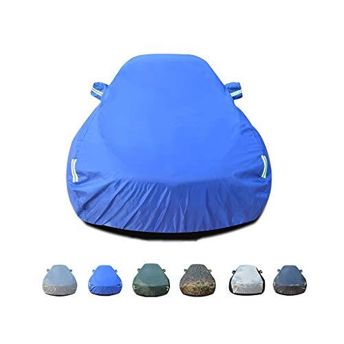 Cubierta del coche grande y transpirable impermeable al aire libre interior for Cadillac CT6 Sedan,