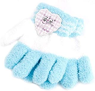 Rabbit Hair Kids Gloves Fur Wool Soft Knitted Cartoon Villain Winter Hand Mitten