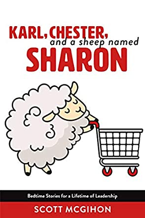 Karl, Chester, and a Sheep named Sharon