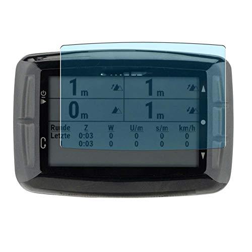 Vaxson 3 Unidades Protector de Pantalla Anti Luz Azul, compatible con Stages DASH L10 GPS Cycling Computer [No Vidrio Templado] TPU Película Protectora