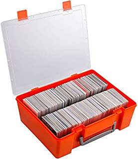 Card Holder Fits for Main Card Game, Storage Organize Binder Comaptible with C.A.H, PM,Phase 10,Uno.Collectible Box Holds up to 1300+ Cards (Case Only)