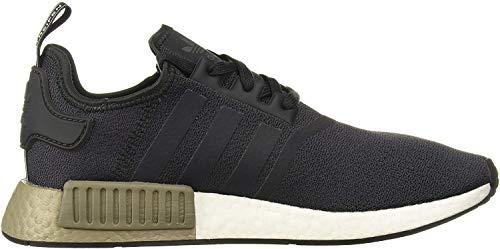 adidas Originals mens Nmd_r1 Running Shoe, Carbon/Carbon/Trace Cargo, 9 US