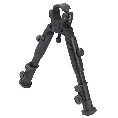 "CCOP USA 6"" Tactical Hunting Rifle Clamp-On Mount Bipod - BP-39MINI"