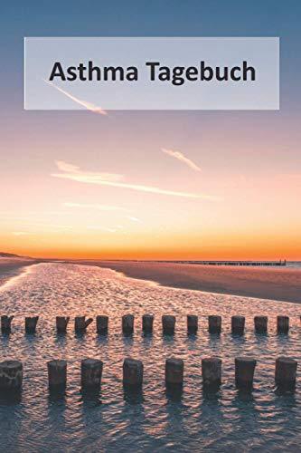 Asthma Tagebuch: Peak Flow Journal um COPD kontrollieren und Ausfüllen I Für 98 Wochen I Taschenbuch Format 6x9 I Landschaft Design