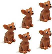 LEGO Friends 5 pcs CHIHUAHUA DOG LOT NEW Animal Minifigure Minifig Figure pet shop doggy puppy girl boy