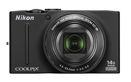 Great Features Of Nikon COOLPIX S8200 16.1 MP CMOS Digital Camera with 14x Optical Zoom NIKKOR ED Gl...