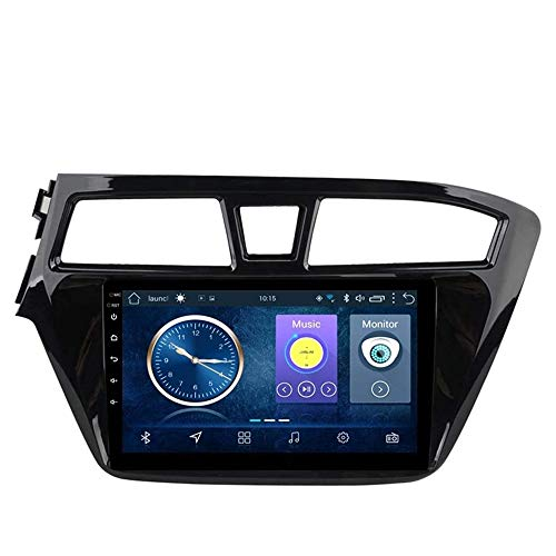 GLFDYC Android 8.1 GPS Navigation Car Stereo Radio, para Hyundai I20 2014-2018, 9 Pulgadas Pantalla Táctil Completa Reproductor Multimedia, Bluetooth FM Am Enlace Espejo USB,WiFi:1+16G