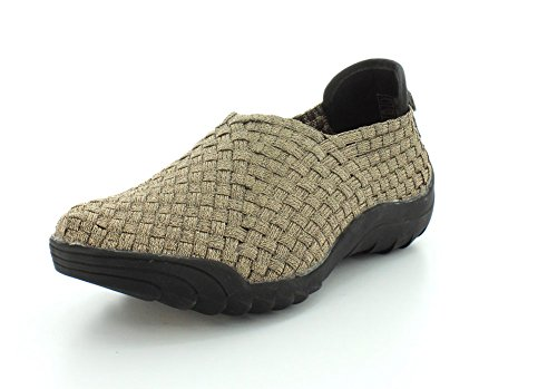 Bernie Mev Women's Rigged Jim Bronze Sneaker 36 (US Women's 5.5) M