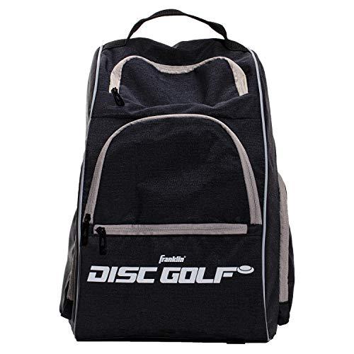 Franklin Sports Disc Golf Rucksack – 18+ Disc Golf Disc Kapazität, grau