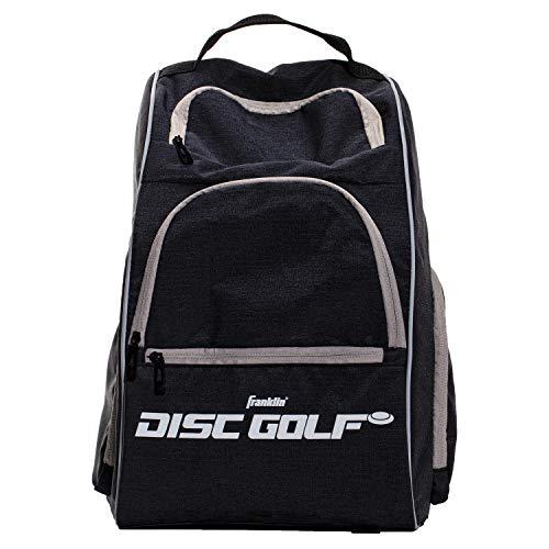 Franklin Sports Disc Golf Backpack - 18+ Disc Golf Disc Capacity, Gray