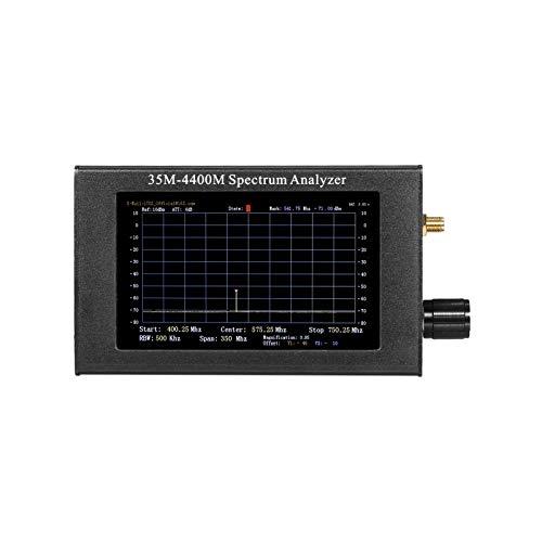 KTOO 35-4400M USB-Spektrumanalysator Signalverfolgungsquelle Handheld Digitale Signalfrequenzanalyse Handfrequenzanalyse mit Aluminiumhülle Handfrequenzanalyse