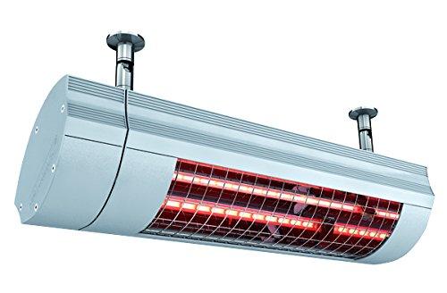 Radiateur infrarouge Solamagic SM 2000ip65 T-LOC IP65, Couleur : Titane, dimensions : 516 x 176 x 230 mm, 230 V