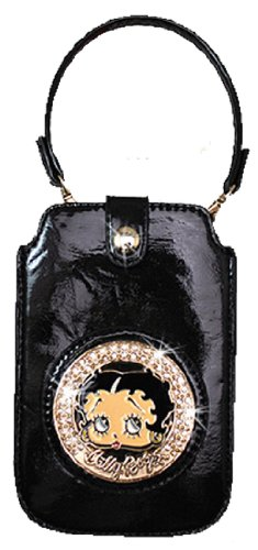 Licensed Betty Boop Cell Phone Cover Case Fits Apple iPhone and Samsung Galaxy KFW-906 (Black)