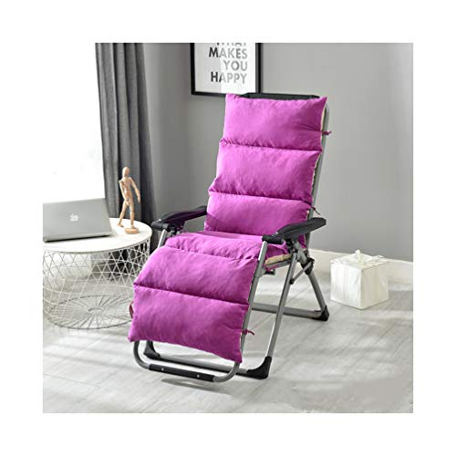 Sun Lounger Chair Cushions Recliner Cushion Recliner Chair Sundlight Patio Cushions Padded Seat For Living Room Single Sofa Cushion Recliner Modern Recliner Seat Home Cushion With Ties
