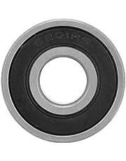 Keenso 10 piezas de Rodamientos de Bolas de 12 mm, Rodamientos Rígidos de Bolas Acero