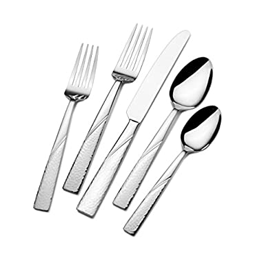 International Silver Loring 51-Piece Stainless Steel Flatware Set, Service for 8