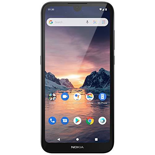 "Nokia 1.3 Smartphone - (14,3cm (5.71"") 16GB ROM, 1GB RAM, Dual SIM), Charcoal"