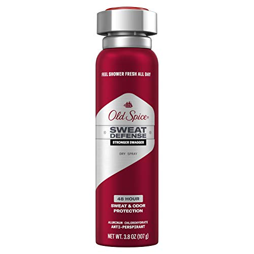 Old Spice Antiperspirant and Deodorant for Men, Invisible Spray, Swagger, Lime & Cedarwood Scent, 3.8 Oz (Pack of 12)