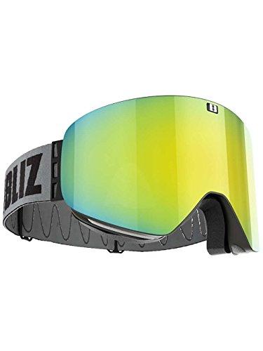 BLIZ PROTECTIVE SPORTS GEAR Herren Schneebrille Flow Black/White (+Bonus Lens) Goggle